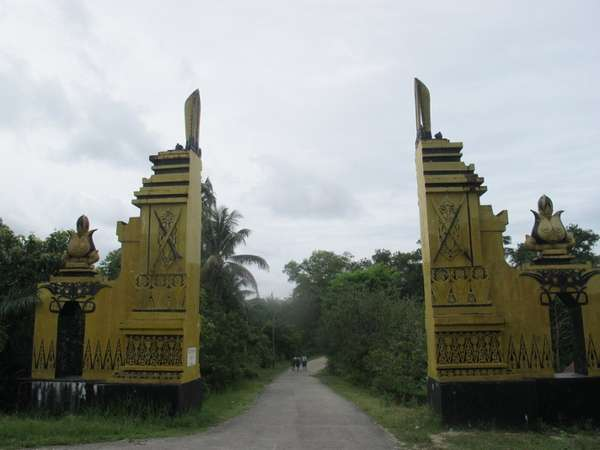 Makam Juang Mandor - Gerbang Pintu Masuk