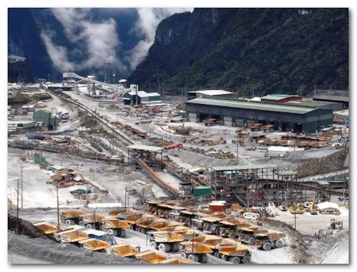Tambang Freeport Papua Indonesia