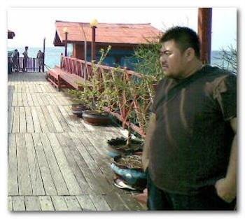 Derawan Island Bodyguard from Beijing
