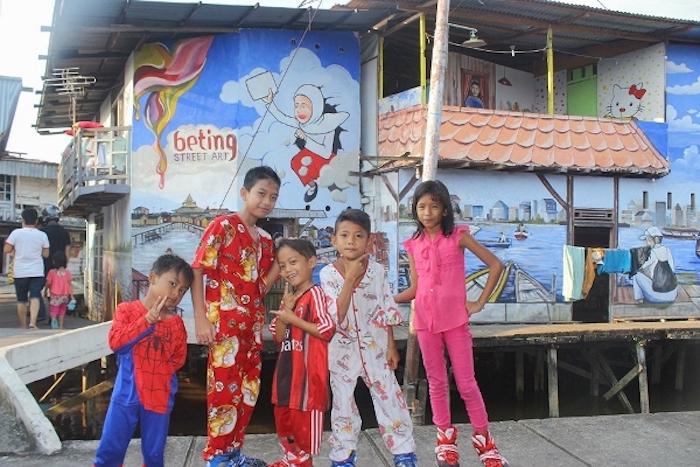 Beting Street Art Kota Tanpa Kumuh