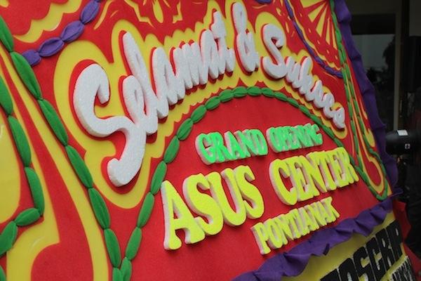 ASUS Service Center Pontianak Open Ceremony