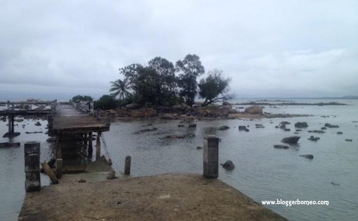 Kondisi Pulau Simping Singkawang Terkini