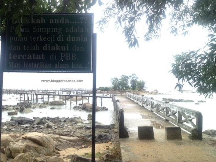 Pulau Simping Singkawang, Cukup Tenar Namun Tak Terpelihara