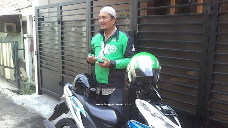 Tukang Gojek Jakarta