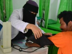 Melihat Kiprah Dokter Bercadar Ini Membuka Klinik Pengobatan 24 Jam Gratis