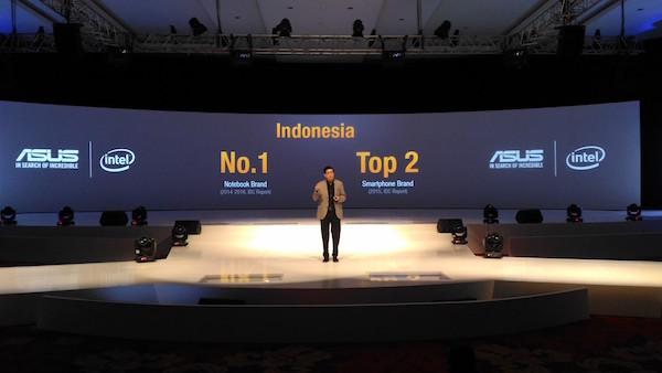 Zenvolution 2016 - ASUS Top 2 Smartphone Brand in 2015