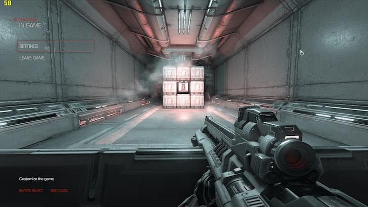 Screen Preview Game Doom ROG Strix GL502VS