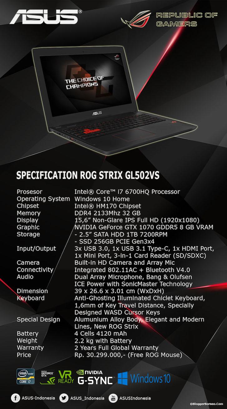 ASUS ROG GL502VS