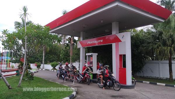 Stasiun Pengisian Kendaraan Roda Dua Pertalite SPBU Coco Pontianak