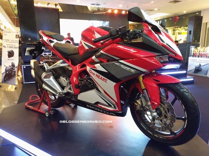 Honda New CBR 250 RR Racing Red