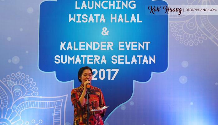 Launching Wisata Halal Sumatera Selatan 2017