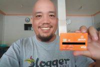 Blogger Borneo Menggunakan Kartu Jenius BTPN