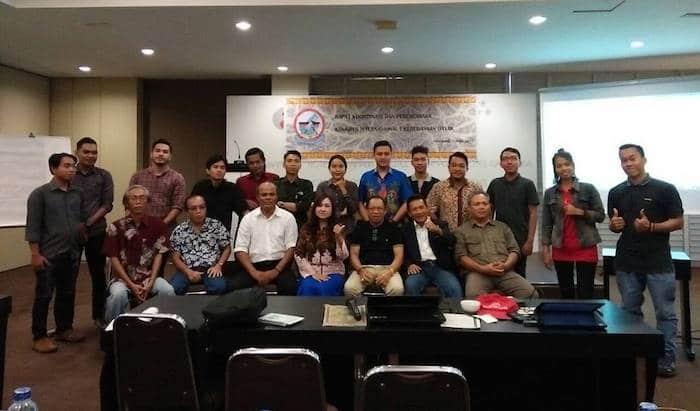 Foto Bersama Panitia Steering Committe di Hotel Gajahmada Pontianak