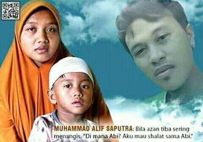 Muhammad Alif Saputra Merindukan Sang Anak