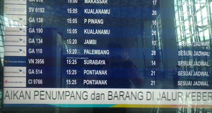 Jadwal Penerbangan China Airlines CGK-PNK di Soekarno Hatta Terminal 3