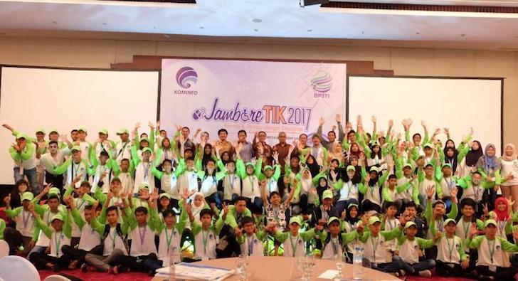 Para Peserta Jambore TIK 2017