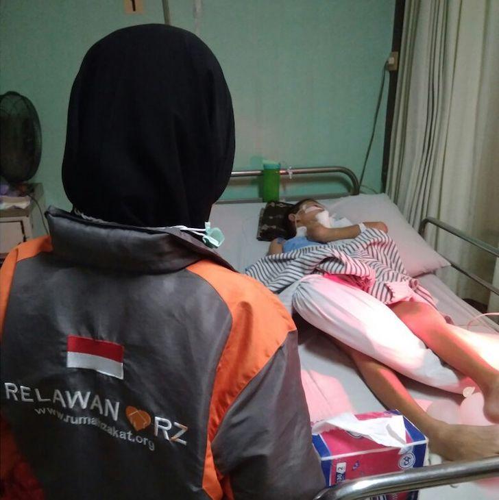Kondisi Rimba Anak 12 Tahun Korban Tabrak Lari di Pontianak