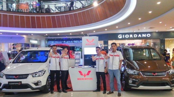 Wuling Motors Pontianak Pamer Tipe Confero di Ayani Mega Mall Bulan Agustus Lalu