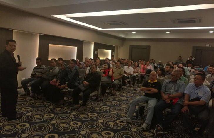USI Tech Raja Bitcoin Seminar