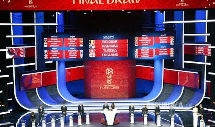 Undian Grup Penyisihan Piala Dunia 2018
