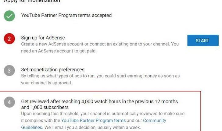 Aturan Baru YouTube Partner Program