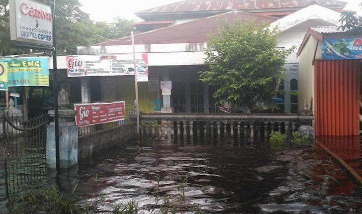 Kondisi Banjir Pontianak 14 Januari 2018