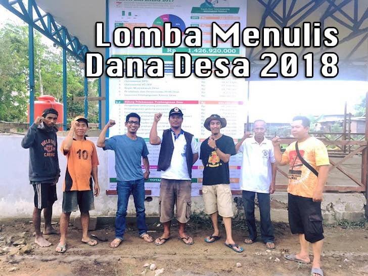 Laporan Dana Desa Teluk Empening Kabupaten Kubu Raya 2017