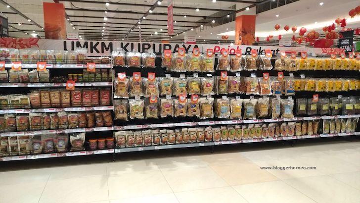Pojok Produk UMKM Transmart Kubu Raya