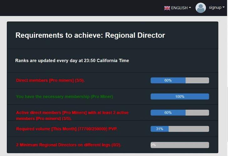 Regional Director Bitcoin MLM Scheme