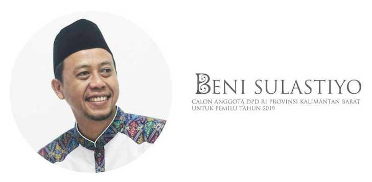 Bung Ben Calon DPD RI Kalbar 2019