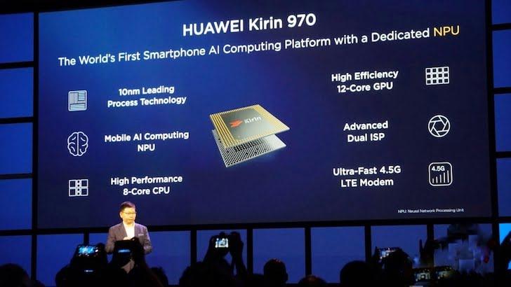 Honor View 10 Kirin 970 AI Processor