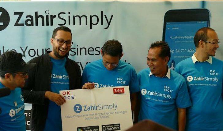Kerjasama Zahir Simply dengan OKE OCE DKI Jakarta