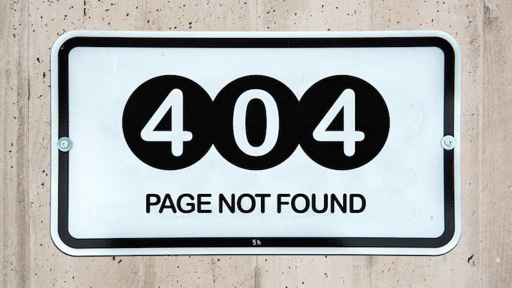 Broken Link Check 404 Page Not Found