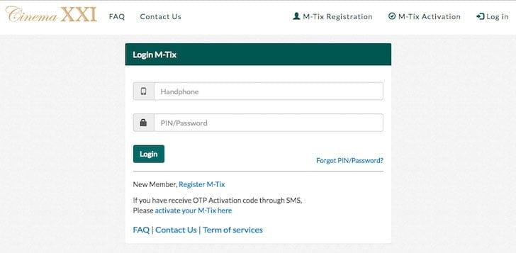 Cara Mudah Memesan Tiket XXI Secara Online