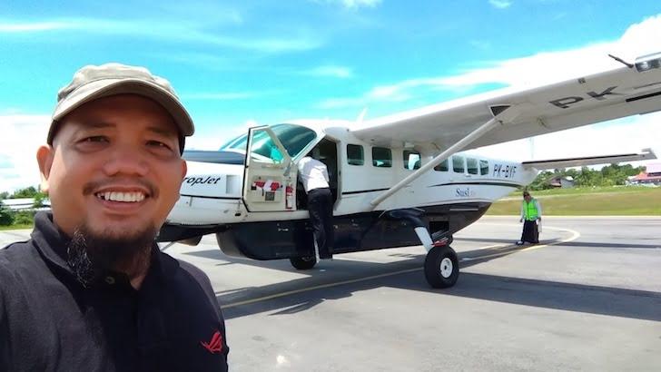 Pesawat Susi Air Rute Pontianak Nanga Pinoh