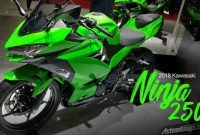 All New Kawasaki Ninja 250 Model 2018