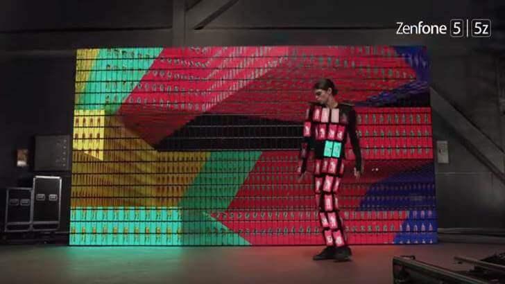 Kolaborasi ASUS dan OK GO Padankan 89 Unit ZenFone 5 dalam 1 Kostum
