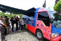 Mobil Kas Bank Indonesia Tempat Penukaran Uang Baru untuk Lebaran 2018