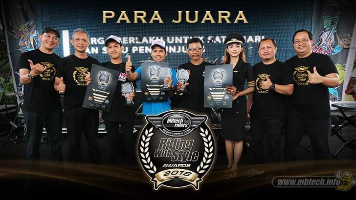 Para Juara Riding with Style Online 2018