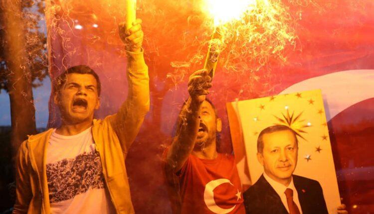 Pawai Kemenangan Pendukung Erdogan