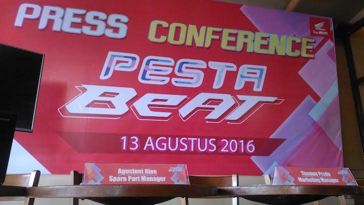 Pesta Beat Astra Honda Motor Kalbar 2016