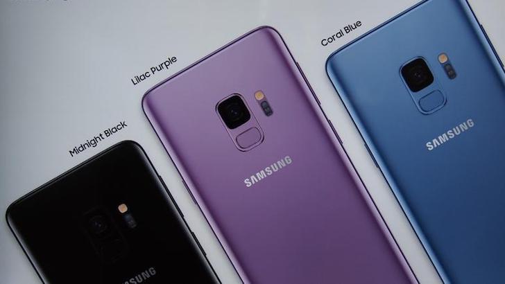 Samsung Galaxy S9 Plus Colours