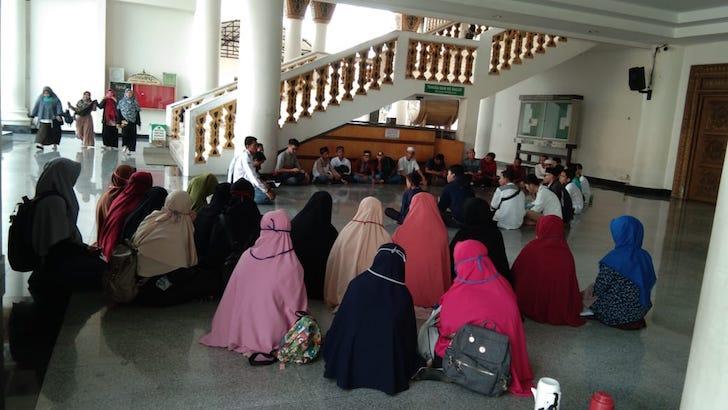 Briefing Sebelum Aksi Peduli NTB Digelar JPRMI Kalbar dengan OPRM