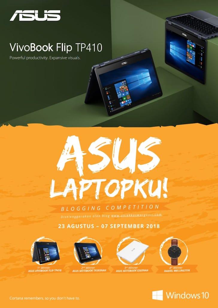 Lomba Blog ASUS Laptopku