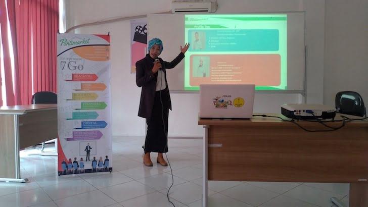 Penjelasan Profil PontiMarket oleh Vice President Alwa Rerizia