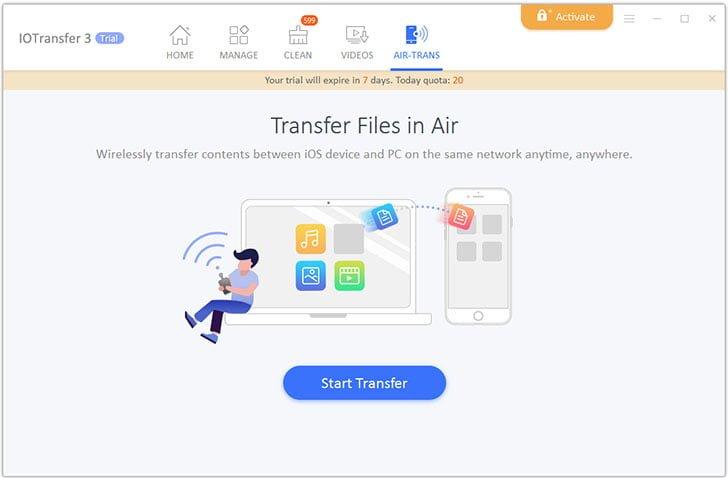 IOTransfer 3 Wireless AirTrans