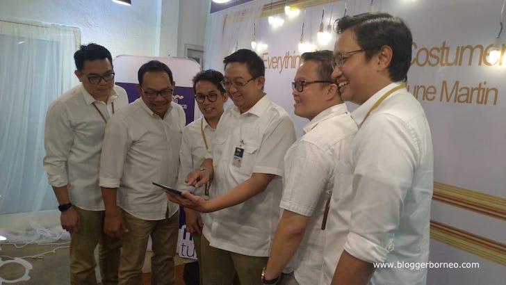 Jajaran Direksi Mandiri Tunas Finance Demo Aplikasi MTF GO