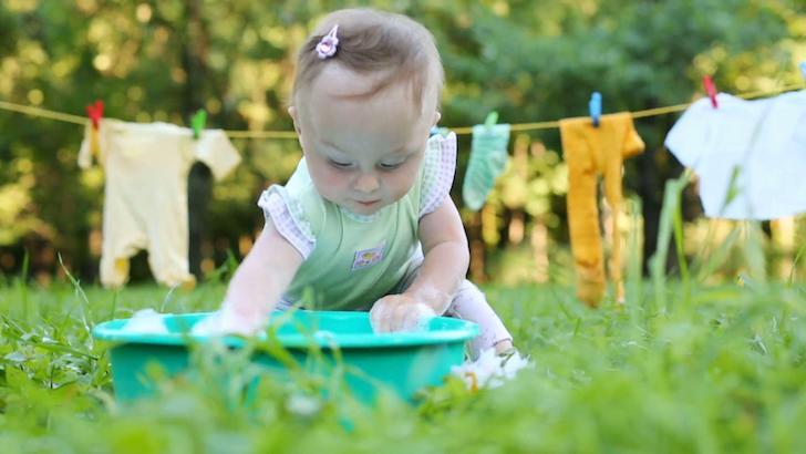 Sabun Pencuci Pakaian Bayi Aman