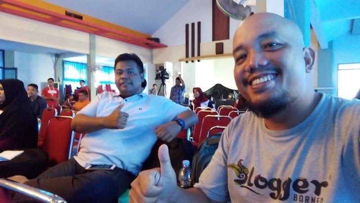 Blogger Borneo Bersama Tim PontiMarket di 1000 Startup Digital Pontianak