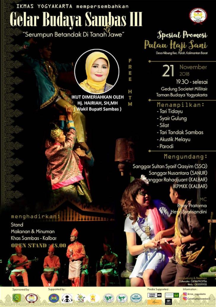 Gelar Budaya Sambas III Yogjakarta